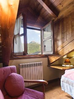 Vistas dormitorio con dos camas