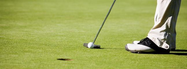 World class golf course on your doorstep