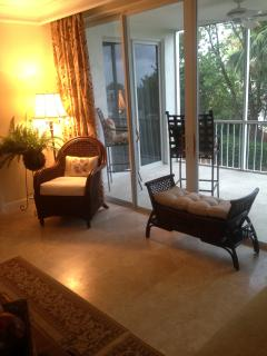 Additional family room seating