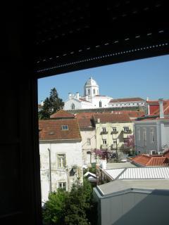 Vista da Janela 1 do quarto