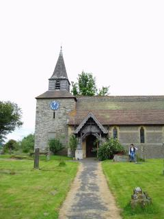 Historic village churches a plenty