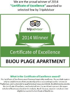 Our pride and joy :-)  Thank you to all the guests who gave us all those raving reviews!