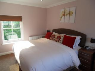 The S[acious & Ultra Comfy Master Bedroom with Pillow Top Bed & Luxury En-suite