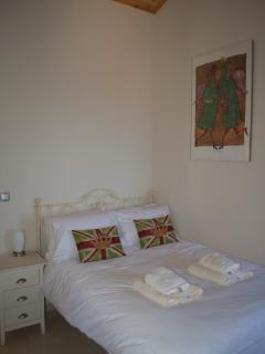 One of two double rooms
