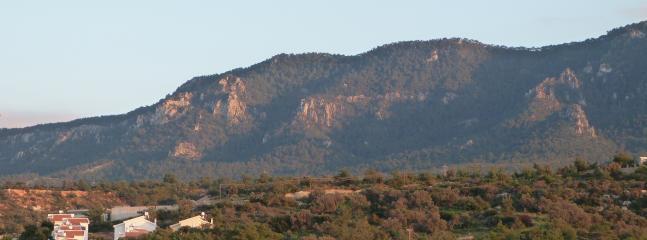 Backdrop to Mountain Breeze villa