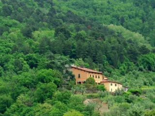 Villa San Simone vista da lontano