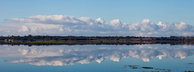 Why we are called the Cotentin region, the marshes flood in the winter & look white