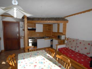 living-room and kitchenette