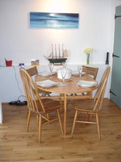 Dining Area with highchair if required