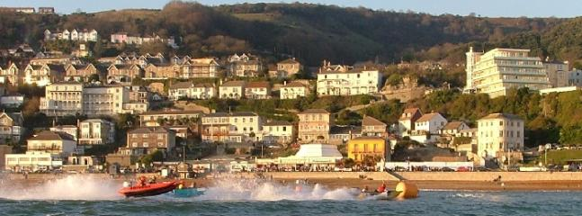 Ventnor from the sea
