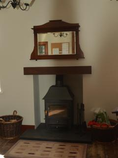 Enjoy our beautiful new multi-fuel stove