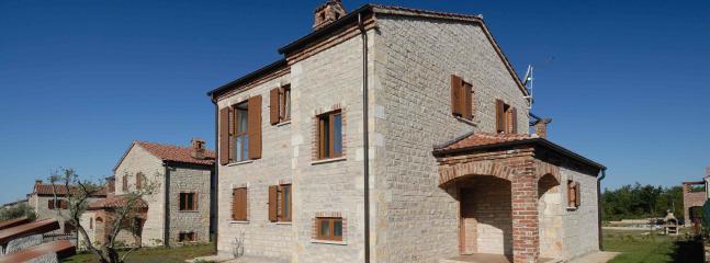 Villa Lorica from Farm side
