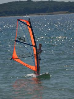 Windsurfing at Fazana beach