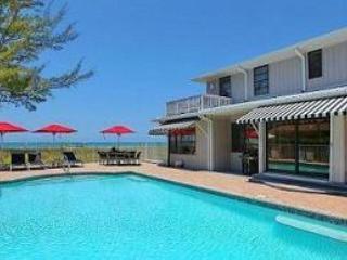 Exquisite Beachfront Villa with Pool & Gulf Views!