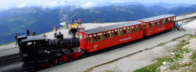 Schafbergbahn - train from St Wolfgang to top of the Schafberg