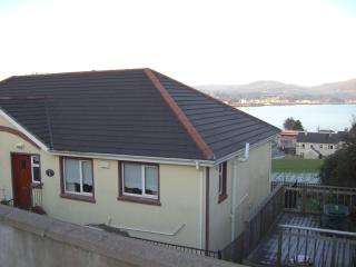 Front of House with panoramic view in the background