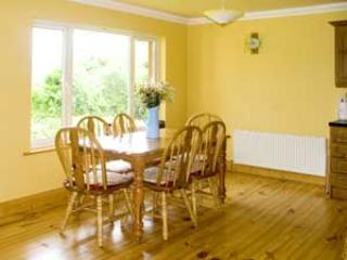 Dining area with views over Carlingford Lough and the Mourne Mountains