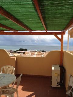 Private solarium/roof terrace