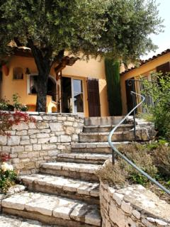 The beautiful Provençal stairs