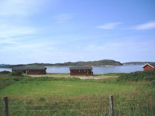 Port Beag Chalets ... right by the sea