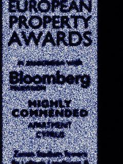 Award Winning Apartment- from the internationally respected Bloomberg