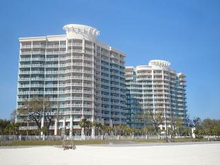 Beautiful two bedroom two bath condo with Gulf view., Gulfport