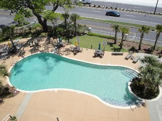 Beautiful two bedroom two bath condo with Gulf view.