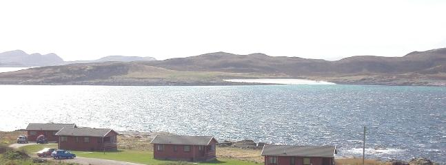 Port Beag Chalets, overlooking the beautiful Summer Isles