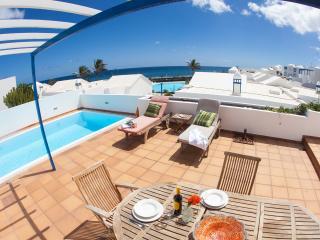 Villa Naos with private pool and Sea Views, Lanzarote