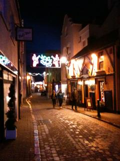 Christmas in Tenby