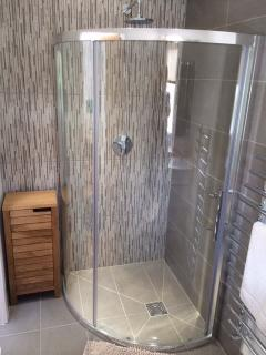 Bathroom. Lovely big shower.