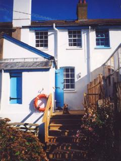 The Beach House, a terrace coastguard cottage