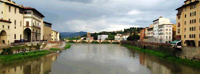 Arno river,1km