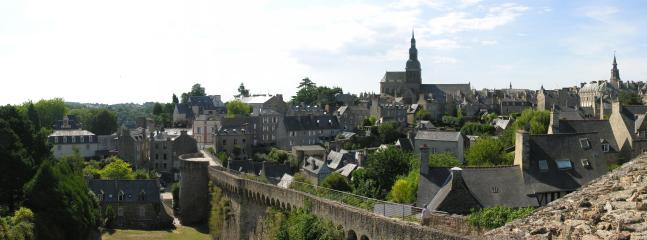 The stunning medieval town of Dinan