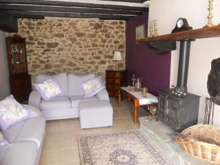Very spacious sunny lounge area  working woodburner, in the cooler months wood provided