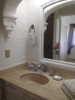main bath room tub/shower