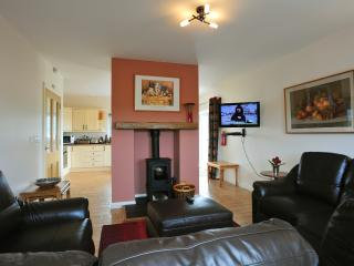 Cosy living room with Woodburner Stove