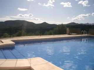 Three bedroom villa near Javea and Denia,stunning views, communal pool, garden.