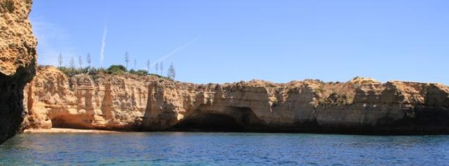 The stunning coastline ... boat trip taken from the Marina