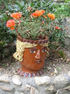 Another ceramic in the garden/park