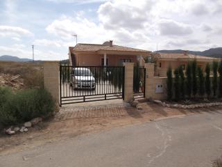 Villa from road