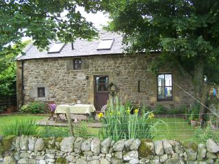 Lovely country cottage with loch and hill views, West Calder