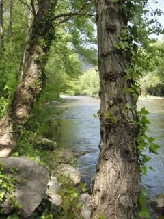 The beautiful River Aude.