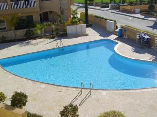 The 15 metre pool from the balcony