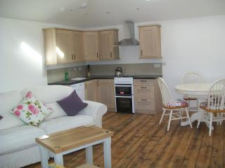 A attractive rustic cosy Living area with fully equipped kitchen and dinning  area