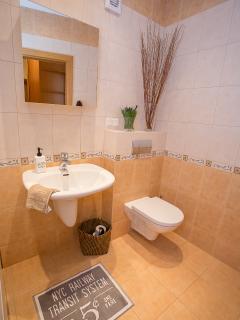 Heating floor in bathroom for more comfort