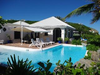 Beachfront  hacienda-styled 4 bedroom villa at Baie Rouge, Terres Basses