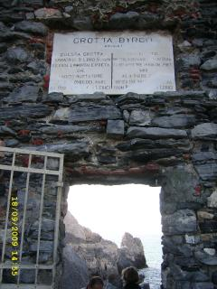 Grotta di Byron  (Portovenere )