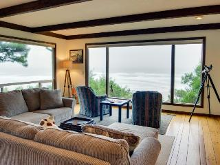 Gorgeous oceanfront retreat w/ marvelous ocean views & beach access