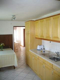 New and hand made solid wood kitchen